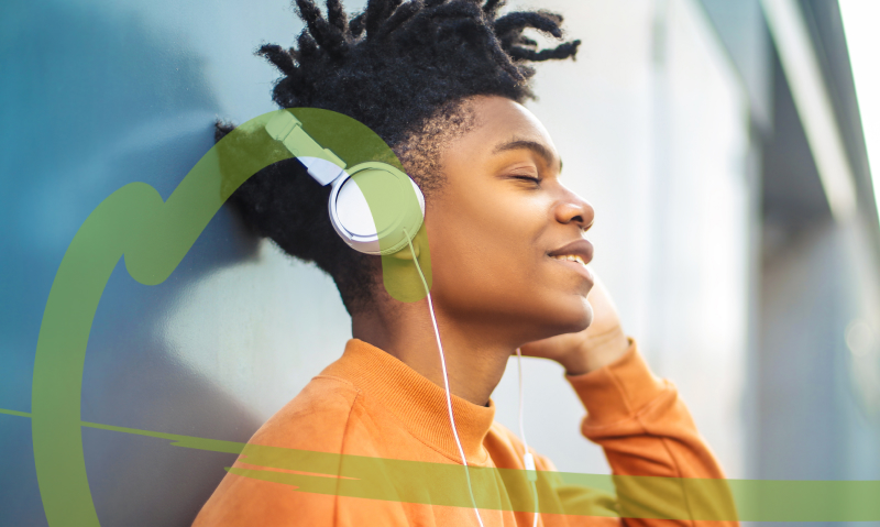 Listening to calming music may help anxiety during your next dental appointment
